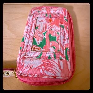 Lilly Pulitzer Phone wallet Wristlet